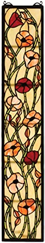 Tiffany Floral Magnolia Stained Glass Window