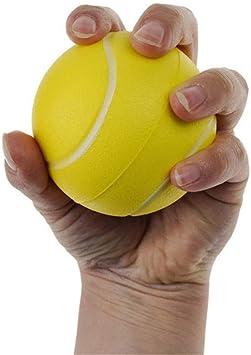 Pelota para ejercicios manuales, apretón para fortalecer la muñeca ...