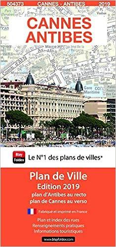 Cannes Antibes Plans Et Atlas De Poche De Ville French Edition Blay Foldex 9782309504373 Amazon Com Books