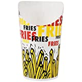 TableTop King GSP55-83013 7.5 oz. Paper French Fry Scoop Cup - 1000/Case