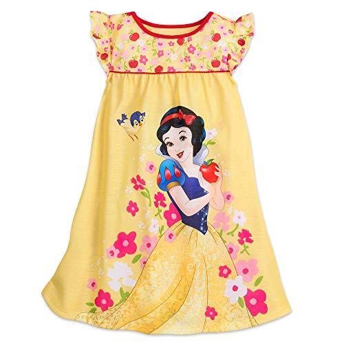 Disney Snow White Nightshirt for Girls Size 7/8 Disney Store Girls Pajamas