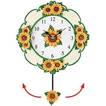 Amazon Com Collections Etc Bright Yellow Sunflower Wall