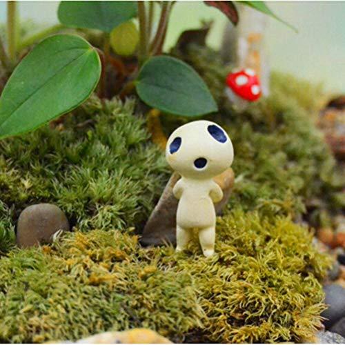 Figurines & Miniatures - Resin Mini Alien Tree Micro Landscape Garden Terrarium Decoration Miniature Ornaments Fairy Hayao - Silver Figurines Miniatures Metal