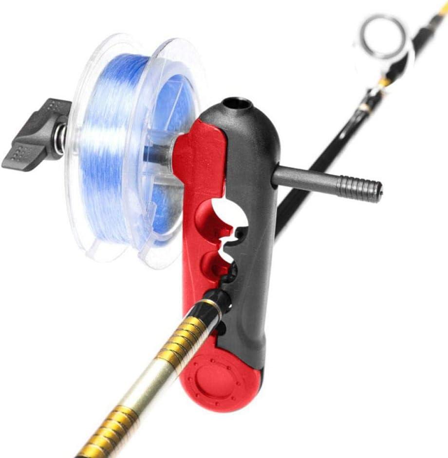 Vbest life Mini Carrete enrollador de Carrete de l/ínea de Pesca Carrete de bobinado de l/ínea de Pesca port/átil para Diferentes tama/ños de Carrete Accesorio de Pesca