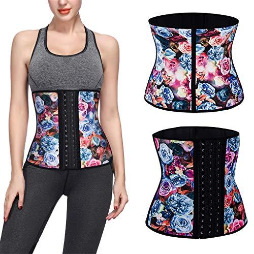 Allywit Women Petite Steel Boned Waist Trainer Underbust Corset Short Torso Mesh Body Shaper by Allywit (Image #1)