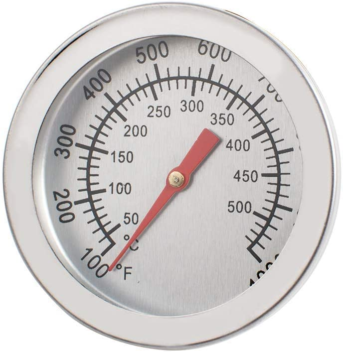 BBQ Thermometer Gauge Oven Thermometer Kitchen Baking Thermometer Temperature Measurement and Control 500°C/932℉
