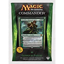 Magic The Gathering Commander 2014 Green Deck Guided By Nature