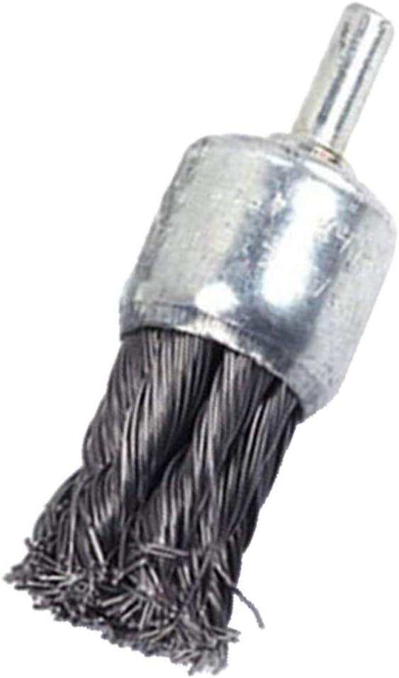 Heavy Duty Wire End Brush Steel Die Grinder Polishing Grinding Dusting Cleaner