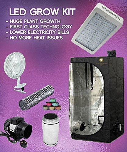 600w LED Grow Tent Kit LED Grow Tent Package & 600w LED Grow Tent Kit LED Grow Tent Package: Amazon.co.uk: Kitchen ...