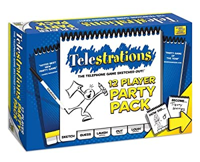 Telestrations 12 Player Party Pack Telestrations 12 Player Party Pack from USAopoly