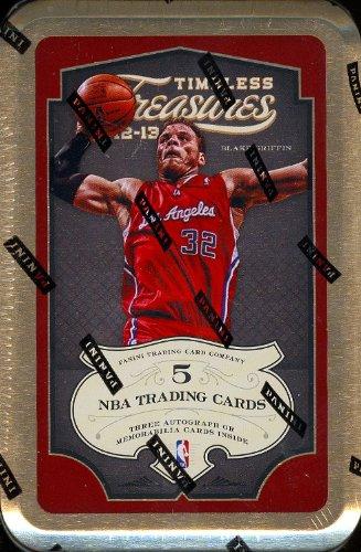 2012/13 Panini Timeless Treasures Basketball Hobby Box (Tin designs may vary (Basketball Factory Sealed Hobby Box)