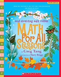 Math For All Seasons: Mind-Stretching Math Riddles (Scholastic Bookshelf)