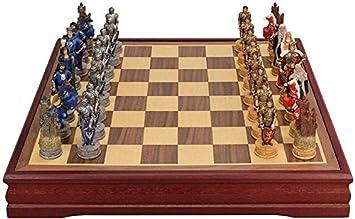AK Ajedrez magnético Juego de ajedrez internacional de madera retro Juego de piezas Juego de mesa Colección de piezas de ajedrez Juego de mesa portátil Juegos de viaje Juguetes Juego de ajedrez,Table: