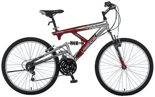 Hiland 24 26 Inch Mountain Bike with Suspension Fork//Disc Brake Free Kickstand Included,Black/&White/&Blue/&Green Color 21 Speeds Shimano Drivetrain