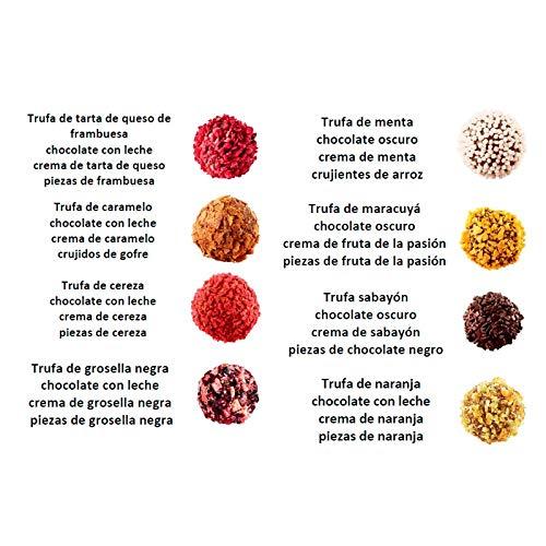 Pure, Trufas de Chocolate Belga 32 trufas - 265 gr.: Amazon.es: Alimentación y bebidas