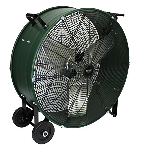 - KING DFC Series High Velocity Direct Drive Drum Fan For Industrial, Commercial Use Fixed Base, 24