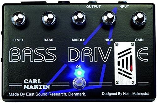 Carl Martin Bass Drive Bass EQ Effect Pedal by Carl Martin