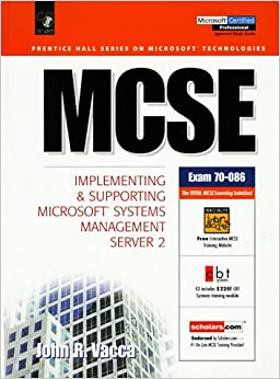 Book MCSE Certification: Implementing and Supporting Microsoft Systems Management Server 2