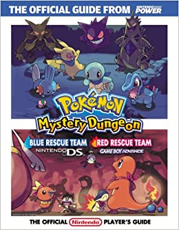 official nintendo pokémon mystery dungeon blue rescue team red