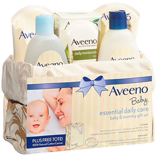 Aveeno Baby Essential Daily Care Baby & Mommy Gift Set featuring a Variety of Skin Care and Bath Products to Nourish… 6