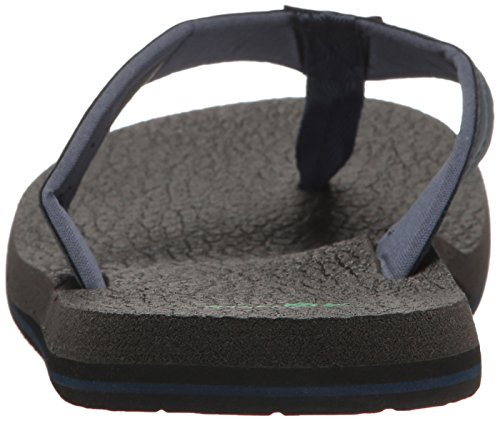 Sanuk Mens Beer Cozy 2 Flip-flop Navy