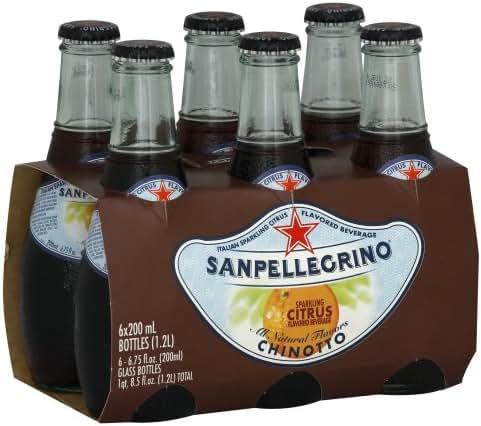 Sparkling Water: San Pellegrino Sparkling Fruit