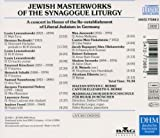Jewish Masterworks of the Synagogue Liturgy : A