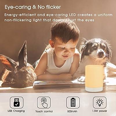 LED Night Light Bulbs, LOHAS Plug in with Dust to Dawn Motion Sensor, 0.3W Ultra Slim, Auto on LED Light