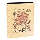 Longpro Imitation Leather Photo Album Deluxe Series for Vacation Honeymoon Holiday Travel Souvenir(Alaska)