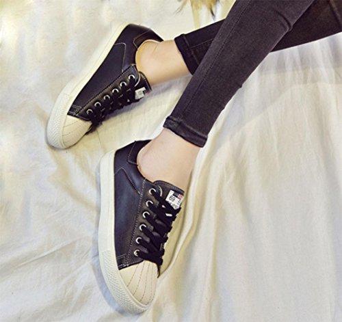Schuhe flach weiss