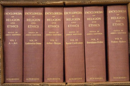Encyclopedia of Religion and Ethics (12 Volumes) (Volumes I-XII)