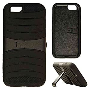 CellTx Jelly Case For Apple (iPhone 6) Heavy Duty Case Cover, Locking Kick Stand (Black) AT&T, T-Mobile, Sprint, Verizon, Boost Mobile, U.S Cellular, Cricket by Maris's Diary