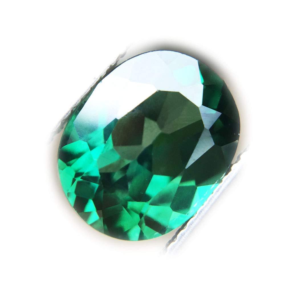 Lovemom 4.69ct Natural Oval Coating Green Topaz Brazil #PU