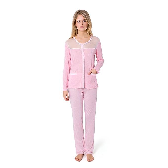 Pijama Largo Rayitas Vigore
