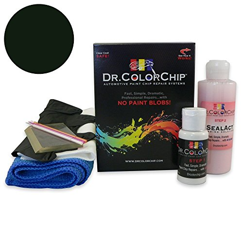 Dr. ColorChip Mercedes-Benz CLK Coupe Automobile Paint - Black 040/9040 - Squirt-n-Squeegee Kit