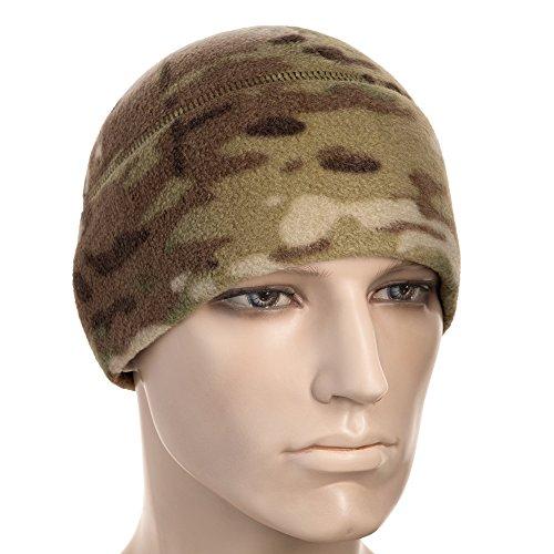 M-Tac Skull Cap Fleece 330 Winter Hat Mens Military Watch Tactical Beanie (Camo, Small)