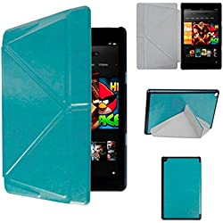 Kindle Fire HD 8, LUNIWEI AUTO Sleep Cover Case + Touch Pen + HD Screen Protective Film