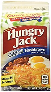 Hungry Jack Premium Hashbrowns, 4.2-Ounce (Pack of 9)
