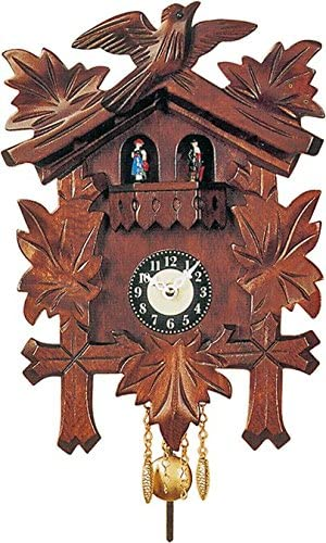 Engstler Cuckoo Clock – Quartz Traditional with Dancers