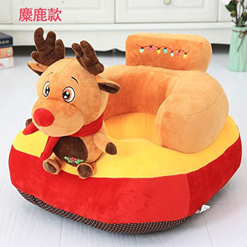 eSunny Plush Unicorn Elephant Deer Toys Safety Seat Back Support Feeding Chair Plush Skin Animal Doll Kids Gift Kids Boy Must Haves Friendship Gifts The Favourite Anime Superhero Cupcake Toppers by eSunny