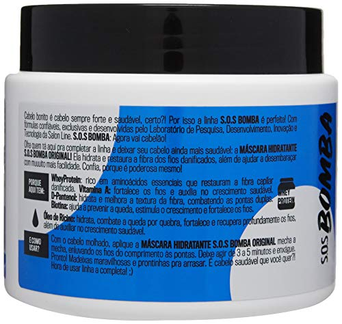 Amazon.com: Linha Tratamento (SOS Bomba de Vitaminas) Salon Line - Mascara Explosao De Hidratacao 500 Gr - (Salon Line Treatment (Vitamin Bomb SOS) ...