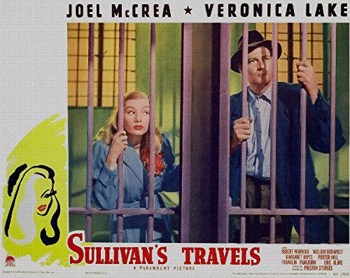 Lake Movie Poster - Odsan Gallery Sullivans Travels, Veronica Lake, Joel Mccrea, 1941 - Premium Movie Poster Reprint 12