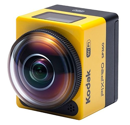 Kodak PIXPRO SP360 Action Cam with Explorer Accessory Pack
