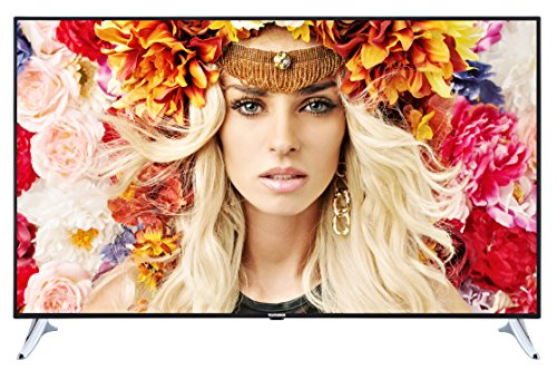 Telefunken XU65A441 165 cm (65 Zoll) Fernseher (4K UHD, Triple Tuner, Passiv 3D, Smart TV, Netflix-Streaming Funktion) schwarz