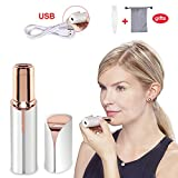 Haphome Epilator Facial Hair Removal for Women, Face Shavers Hair Remover with Rechargeable Battery, Women's Painless Hair Remover for Good Finishing and Well Touch, Perfect for Face (White)