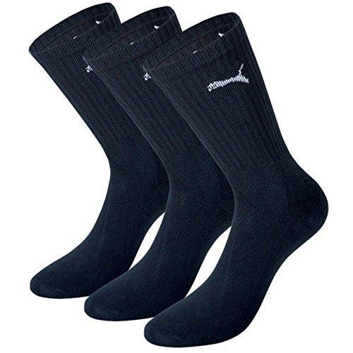 9 Socks Noir Pair Unisex 35 Tennis Sport Puma 49 Gr dtwqdz