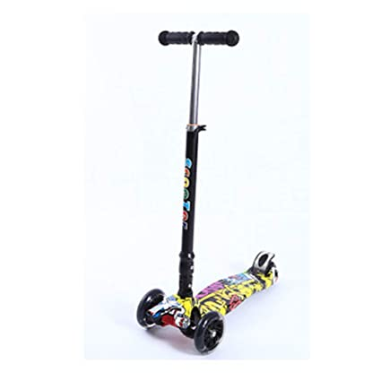 Amazon.com: Patinete infantil Graffiti Big de tres ruedas ...