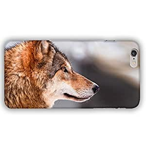 Wolf in the Snow iPhone 6 Plus Slim Phone Case