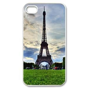 DDOUGS Paris Effie Tower DIY Cell Phone Case for Iphone 4,4S, Discount Paris Effie Tower Case