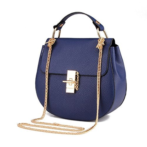 vinicio-womens-classic-messenger-bag-fashionable-vintage-chain-metal-buckle-handbagnavy